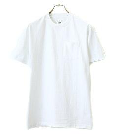 ANATOMICA / アナトミカ : POCKET TEE S/S made of USA yarn / 全3色 : アナトミカ ポケット シャツ ショートスリーブ メイドオブユーエスエー : 530-541-23 【MUS】