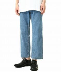 Maison Margiela / メゾン マルジェラ : CROPPED DENIM PANTS : クロップド デニム パンツ メンズ : S50LA0152 【RIP】