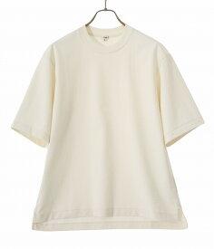 Scye / サイ ベーシックス : Organic Cotton Jersey Big T-Shirt : オーガニック コットン ジャージ ビッグティーシャツ メンズ : 1120-21231 【MUS】