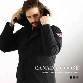 CANADA GOOSE/加拿大鹅人: 碧玉/JASPER PARKA/全3色: 碧玉人羽绒服重的外衣风雪大衣外衣: 3438JM-SZ