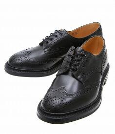 Tricker's / トリッカーズ : WING TIP SHOES RIDGEWAY SOLE -BLK- : トリッカーズ ブーツ 短靴 ウィングチップ レザーシューズ 本革 : M5633-BLK【MUS】