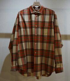 ■【予約商品 2019年8月〜10月入荷予定】WELLDER / ウェルダー : WELLDER Standard Shirt :※入荷時カラー確認 ウェルダー スタンダード シャツ メンズ : WM19FSH01【NOA】