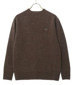 Scye / サイ ベーシックス : Shetland Wool Crew Neck Sweater : シェトランド ウール クルーネック セーター : 5119-13600 【MUS】
