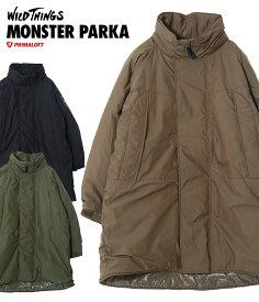 WILD THINGS / ワイルドシングス : MONSTER PARKA / 全3色 : モンスターパーカ ジャケット アウター パーカ メンズ : WT19104SN 【AST】【REA】