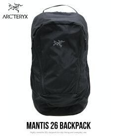 【送料無料!】ARC'TERYX / アークテリクス : Mantis 26 Backpack : マンティス 26 バックパック : リュック バッグ バックパック カバン メンズ レディース : L07448200 【STD】【DEA】【REA】