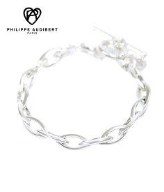 PHILIPPE AUDIBERT / フィリップオーディベール : Elton bracelet silver color : ブレスレット シルバー ジュエリー レディース ブレス ギフトラッピング可能 : brs1663【ANN】