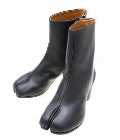 Maison Margiela / メゾン マルジェラ :【レディース】TABI BOOTS(6cmヒール) : タビ ブーツ レザーブーツ マルジェラ レディース : S58WU0246 【ANN】