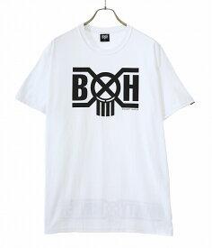 【送料無料】BOUNTY HUNTER / バウンティーハンター : B×H LOGO R BOUNTYHUNTER Tee : バウンティーハンター ロゴ Tシャツ メンズ : BHST2006-7【NOA】