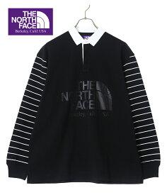 THE NORTH FACE PURPLE LABEL / ザ ノースフェイス パープルレーベル : Rugby Shirt : ラグビー シャツ ナナミカ nanamica ノースフェイス PPL : NT3954N 【PIE】