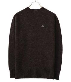 Scye / サイ ベーシックス : Shetland Wool Crew Neck Sweater / 全3色 : シェットラウンド ウール クルー ネック セーター メンズ : 5120-13600 【MUS】