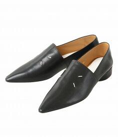 Maison Margiela / メゾン マルジェラ :【レディース】MOCASSIN : モカシン レザーシューズ 革靴 マルジェラ レディース : S58WR0036-PR869【ANN】