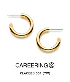 送料無料!【P10倍】CAREERING / キャリアリング : PLACEBO 501 (YW) : プラセボ 501 ピアス アクセサリー メンズ レディース ユニセックス : PLACEBO-501-YW 【NOA】