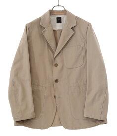 Scye / サイ ベーシックス : San Joaquin Cotton Chino Sack Coat : サン ホアキン コットン チノ サック コート アウター ジャケット メンズ : 5121-43518【MUS】