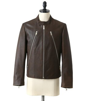 Maison Margiela(mezommarujiera)/LEATHER RIDERS JACKET(rezaraidasuhanojirezajaketto)S50AM0289