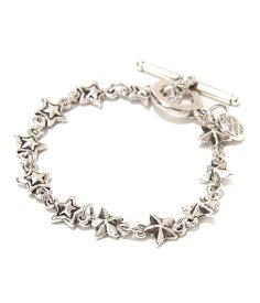 PHILIPPE AUDIBERT / フィリップオーディベール : April bracelet silver color : ブレスレット シルバー ジュエリー スター 星ブレス チェーン レディース ギフトラッピング可能 : brs1614【ANN】