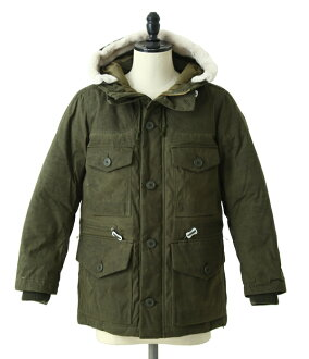结束之前!snow peak[SNOW PEAK]/Waxed Down Jacket(SNOW PEAK羽绒服外衣)JK-16AU112