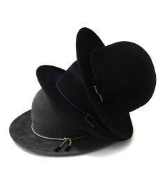 KIJIMATAKAYUKI(キジマタカユキCOEURクール)/BOWLERHAT/全3色(ラビットフェルトボウラーハット帽子)162817【RIP】