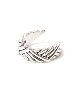 PHILIPPE AUDIBERT [필립 오 디 베일]/Rigid natte ring (강 ナッテ 반지 격투 실버) BG1958