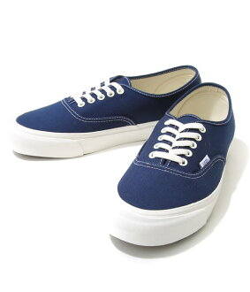 VANS VAULT/OG AUTHENTIC LX (CANVAS/SUEDE) DRESS BLUES/WROUGHT IRON (운동 화 신발 슈즈) VN-000UDDIAW