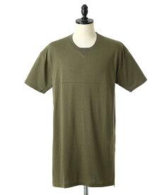MAGIC STICK / マジックスティック : NEW LONG LENGTH TEE : ティーシャツ トップス 半袖 カットソー : 16SS-MS-026【WAX】