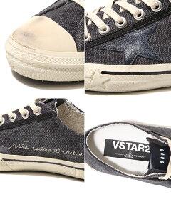 GOLDENGOOSE[ゴールデングース]/SNEAKERSV-STAR2-DARKGREYCANVAS-(ゴールデングーススニーカー靴ヴィンテージ)G28MS639-F2【RIP】