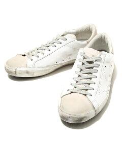 GOLDENGOOSE[ゴールデングース]/SNEAKERSSUPERSTAR-WHITESKATE-(ゴールデングーススニーカー靴ヴィンテージ)GCOMS590-A5【RIP】