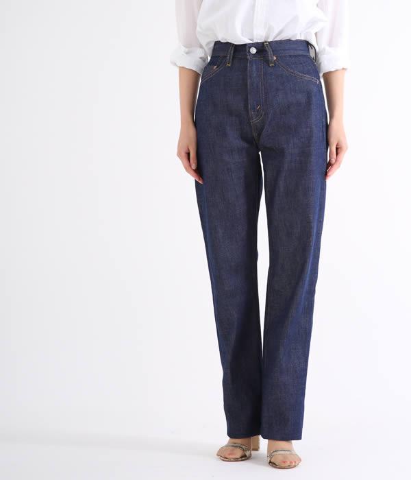 LEVIS VINTAGE CLOTHING(リーバイス ヴィンテージ クロージング) / 【レディース】1950's 701 jean rigid-Rigid- (デニム ジーンズ パンツ ジーパン ボトム リジッド ヴィンテージ) 50701-0008【ANN】