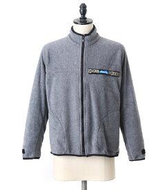 【期間限定送料無料!】KAVU / カブー : Freece F/Z Throw Shirts / 全2色 : フリース ジャケット アウター ブルゾン フルジップ スローシャツ : 1981-0137【STD】