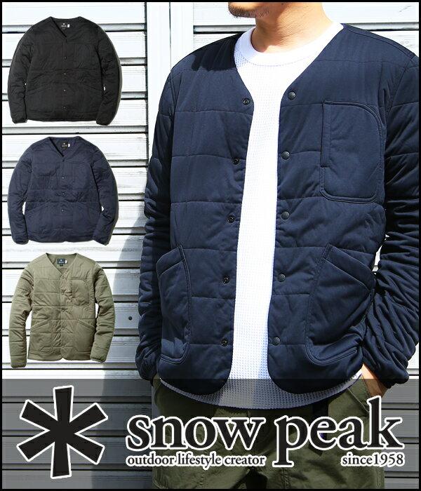 snow peak [スノーピーク] / Flexible Insulated Cardigan / 全3色 (フレキシブル インサレーション カーディガン) SW-17AU010【PIE】【REA】
