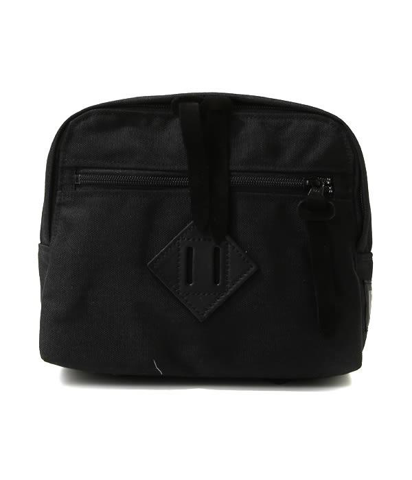 "hobo(ホーボー) / CELSPUN Nylon ""BALMAT"" Waist Bag by ARAITENT (ショルダーバッグ ポーチ ウェストバッグ) HB-BG8001【NOA】"