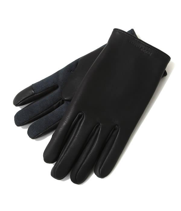 【SALE/セール】hobo(ホーボー) / Cow Leather Glove (カウレザー グローブ) HB-A2607【NOA】