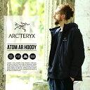 ARC'TERYX / アークテリクス : 【メンズ】Atom AR Hoody Men's (REGULAR FIT) -Black- : ジャケット アトムar フー…