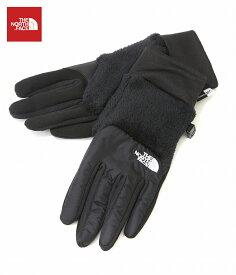 【送料無料】【ポイント10倍】THE NORTH FACE / ノースフェイス ザ・ノースフェイス : Denali Etip Glove -ブラック- : デナリ イーチップ グローブ 手袋 スマホ 対応: NN61525 【WAX】【REA】【DEA】