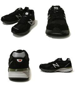 NewBalance(ニューバランス)/M990BK4(ニューバランスM990スニーカー靴)M990BK4【NOA】