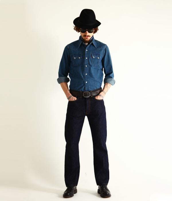 LEVIS VINTAGE CLOTHING / リーバイス ヴィンテージ クロージング : 51947 501 Jeans(レングス32inch) : デニム ボトムス ジーパン ズボン LVC 501XX : 47501-0167-L32【MUS】