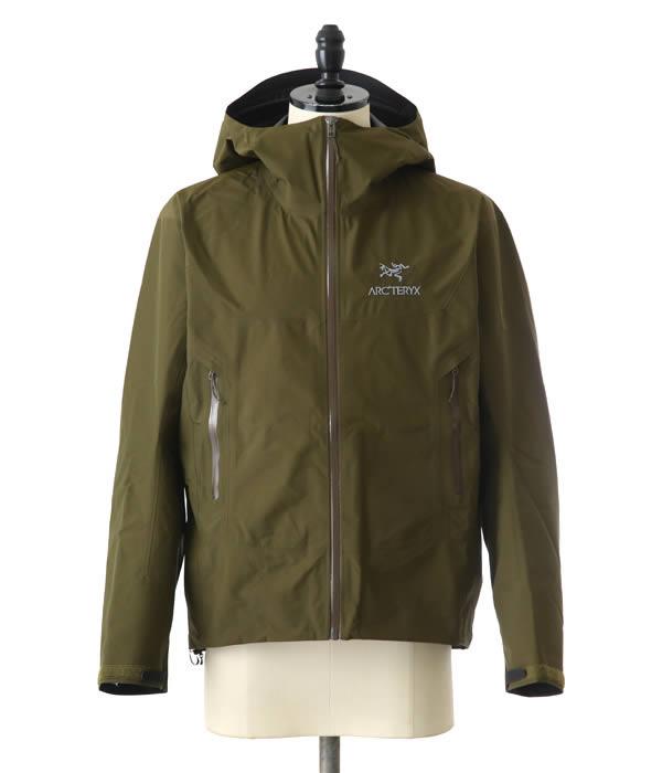【期間限定送料無料!】ARC'TERYX [ アークテリクス ] / 【メンズ】Beta SL Jacket Mens SMU -Dark Moss- (アークテリクス ジャケット アウター ブルゾン メンズ) L07026100【STD】