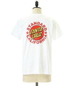 STANDARD CALIFORNIA / スタンダードカリフォルニア スタカリ : SANTA CRUZ × SD T / 全3色 : スタカリ サンタクルーズ ロゴ メンズ : TSOSN078【PIE】【REA】