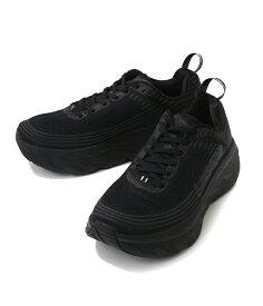HOKA ONE ONE / ホカオネオネ : BONDI 6 : ボンダイ ランニングシューズ スニーカー 靴 ローカット メンズ : 1019269【PIE】