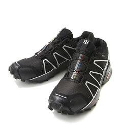 SALOMON / サロモン : SPEEDCROSS 4 GTX Black/Black/SI : スピードクロス スニーカー アウトドア シューズ メンズ : L38318100【AST】