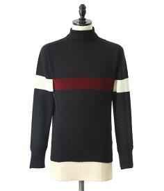 KAPTAIN SUNSHINE / キャプテン サンシャイン : Seamless Naval Sweater : シームレスネーヴァルセーター セーター ニット メンズ : KS8FKN06【NOA】