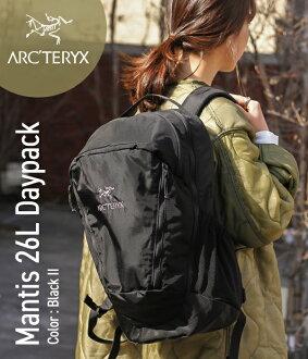 ARC'TERYX[akuterikusu]/Mantis 26L Daypack-Black II-(ryukkumantisu 26L背包日包帆布背包包包户外轻量耐力节日徒步旅行)L06901500