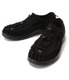 【サマーキャンペーン!】KEEN / キーン : 【メンズ】UNEEK O2 -Black/Black- : ユニーク サンダル 靴 アウトドア 旅行 レジャー 軽量 : 1018709【STD】【REA】