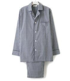 SLEEPY JONES / スリーピージョーンズ : lowell pajama set (core)- small gingham : スリーピージョーンズ パジャマ パンツ ルームウェア キンガムチェック メンズ : CORE-MS002-F1303-410【DEA】
