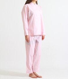 【SPECIAL PRICE!】SLEEPY JONES / スリーピージョーンズ : 【レディース】Bishop Pajama Set-Small Gingham Pink : パジャマ パンツ ルームウェア ギンガムチェック 18SS 18春夏 レディース : SS18-WS006-F1303-661 【DEA】