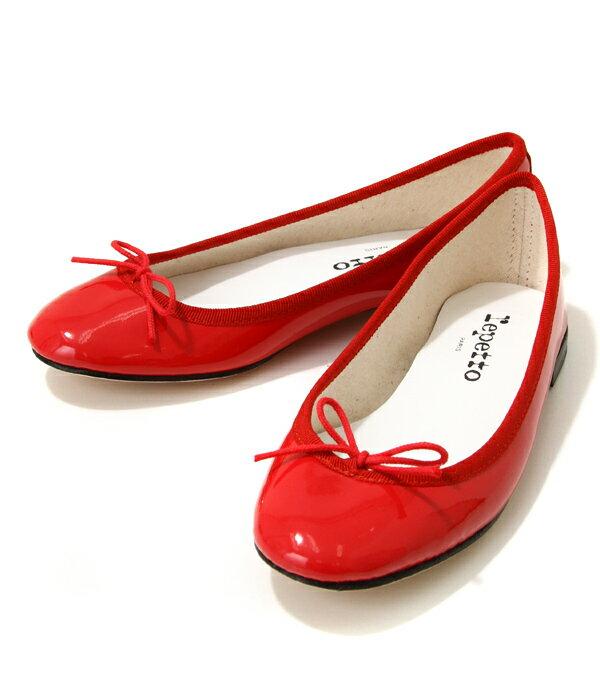 【SPECIAL PRICE!】repetto / レペット : <CENDRILLON>(V086V)-RED- : レペット サンドリヨン バレエシューズ パンプス ローヒール 靴 レディース ポインテッドトゥ フラットシューズ : 51182-1-06086【ANN】