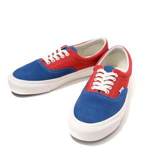 VANS VAULT [vans Vault] / OG ERA LX (SUEDE/CANVAS) DARK BLUE/CRANBERRY (sneaker era shoe) VN-0OZDGL6