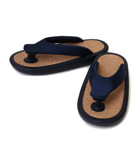 "JoJo [조]/""BEACH SANDAL"" NAVY (S/M 사이즈) (비치 샌들 신발) JOJO-BASIC-NAV-SM"