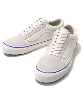 VANS VAULT / OG OLD SKOOL LX (SUEDE/CANVAS) MARSHMALLOW (sneakers old school shoe) VN-000VOJKC0