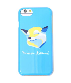 支持MAISON KITSUNE[mezonkitsune]/IPHONE CASE FOX INES LONGEVIAL(iPhone7的情况)(mezonkitsuneaifonkesu iPhone三色旗福克斯巴黎)KUI8707