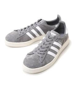 adidasOriginals(アディダスオリジナルス)/CAMPUS-グレイ/ホワイト-(キャンパススニーカー靴シューズ)BZ0085【PIE】